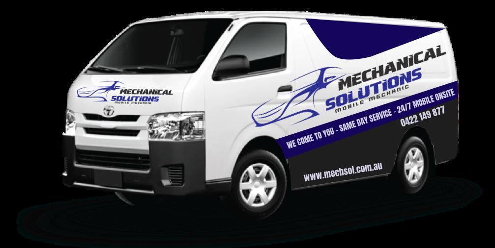 mechsol mobile mechanic Melbourne van